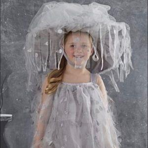 NWT Pottery Barn 4-6 Rain cloud costume